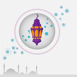 ramadan σχέδιο καρτών Στοκ φωτογραφίες με δικαίωμα ελεύθερης χρήσης