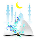 Ramadan. Vecor ilustration on white background Stock Images