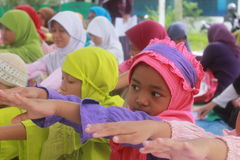 Ramadan aktywność Zdjęcie Stock