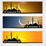 Ramadan And Eid Headers Stock Photography