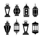 Ramadan Arabic Lanterns Stock Photo