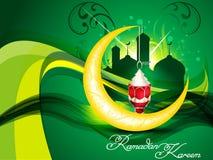 Ramadan artistic lamp background Royalty Free Stock Images