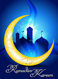 Ramadan background  with mosk Stock Images