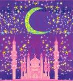 Ramadan background - mosque card. Ramadan background - mosque illustration card