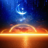 Ramadan background vector illustration