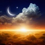 ramadan bakgrund Arkivbild
