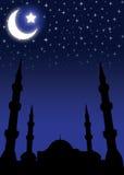 ramadan bakgrundseid Arkivfoto