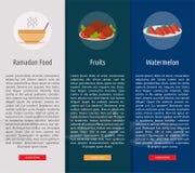 Ramadan Banner Concept illustration libre de droits