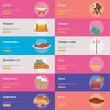 Ramadan Banner Design illustration de vecteur