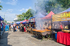 Ramadan Bazaar κατά τη διάρκεια του ιερού μήνα Ramadan Στοκ Φωτογραφίες