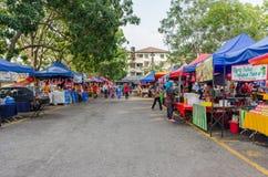 Ramadan Bazaar Kuala Lumpur. Kuala Lumpur,Malaysia - July 23, 2014: People can seen walking and buying foods around the Ramadan Bazaar.It is established for Royalty Free Stock Images