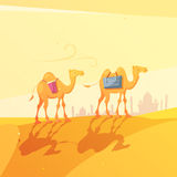 Ramadan Camel Illustration royalty free illustration