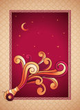 Ramadan Cannon stock illustrationer