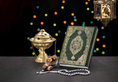 Ramadan Celebration Objects Stockbild