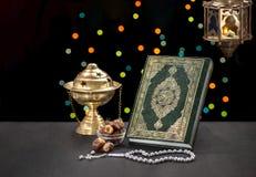 Ramadan Celebration Objects Stock Image