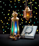 Ramadan Celebration Symbols Stockfotografie