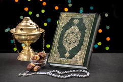 Ramadan Celebration Symbols Stockbilder