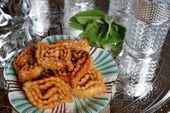 Ramadan ciastka od Morokko Obrazy Stock