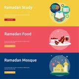 Ramadan Conceptual Banner Design Image stock