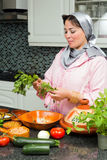 Ramadan cooking Stock Images