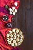 Ramadan cukierk?w t?o Ghorayeba cukierki E Ciastka El Fitr Islamska uczta obraz stock