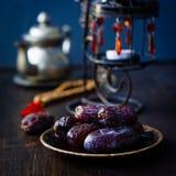 Ramadan dates for iftar opening Stock Image