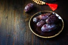 Ramadan dates for iftar opening Royalty Free Stock Image