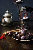 Ramadan dates for iftar opening Stock Images
