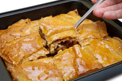 Ramadan Dessert Baklava turco fotografia de stock