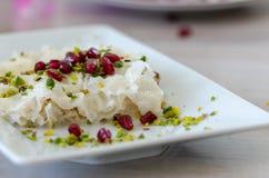 Ramadan Dessert Gullac tradicional foto de stock royalty free
