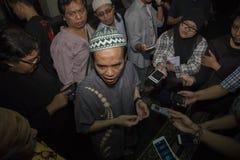 Ramadan Discussion About Islam Role en paz Fotos de archivo libres de regalías