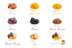 Ramadan Dried Fruits Stock Image
