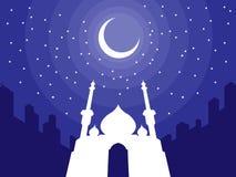 Ramadan & Eid Mubarak Greeting 3 Stock Photography