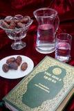 Ramadan evening vertical stock photography