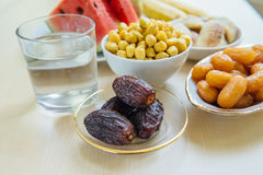 Ramadan fasting food Royalty Free Stock Images