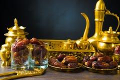Ramadan food also known as kurma , Palm dates stock photography