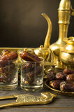 Ramadan food also known as kurma , Palm dates Stock Photography