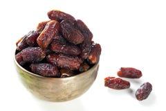 Ramadan food date fruits Stock Photos