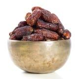 Ramadan food dates fruit Stock Image
