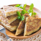 Ramadan food martabak Royalty Free Stock Images