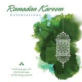 Ramadan grafisch ontwerp royalty-vrije illustratie