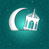 Ramadan greeting card Royalty Free Stock Photography