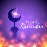 Ramadan Greeting Card for holy month Stock Photo