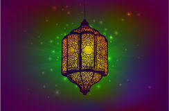 Ramadan greeting card template Stock Photo