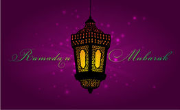 Ramadan greeting card template Stock Photos