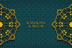 Ramadan greetings background Royalty Free Stock Photos