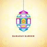 Ramadan greetings background. Ramadan Kareem means Ramadan the Generous Month.  Stock Image
