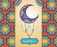 Ramadan greetings background Stock Images