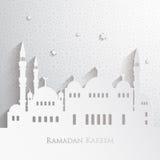 Ramadan greetings Stock Image