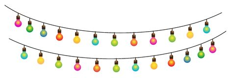 Ramadan ha colorato la decorazione 3 della via delle lampade Fotografia Stock Libera da Diritti